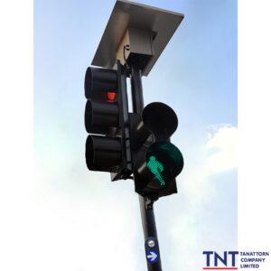 สัญญาณไฟจราจรคนข้ามถนน